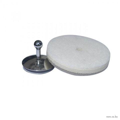 """Губка универсальная и держатель на присоске """"Round"""" (белая, серая)"""