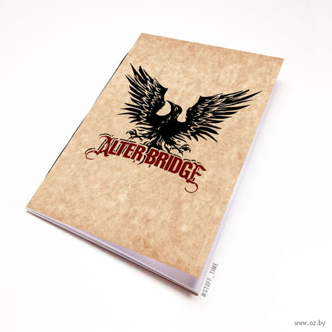 "Блокнот крафт ""Alter Bridge"" А5 (076)"