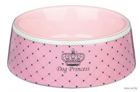 """Миска для собак керамическая """"Dog Princess"""" (0,18 л)"""