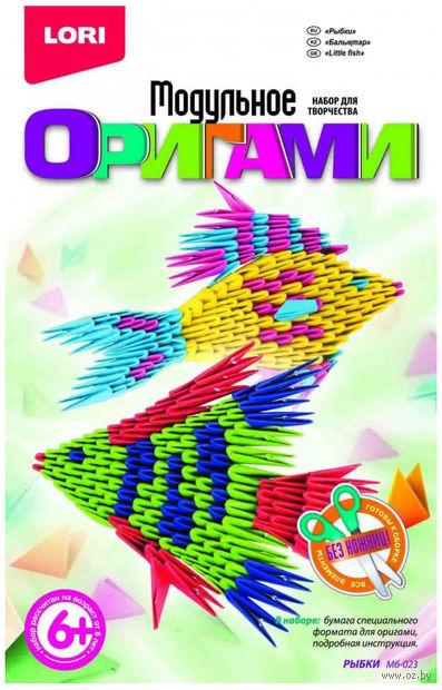 """Оригами модульное """"Рыбки"""" — фото, картинка"""