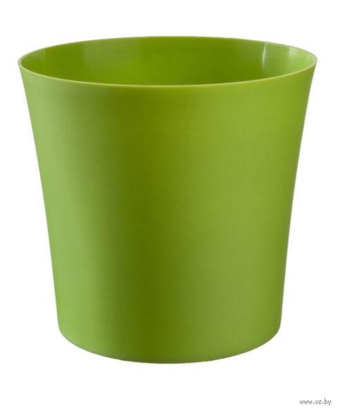 """Цветочный горшок """"Фиолек"""" (14 см; зеленый) — фото, картинка"""