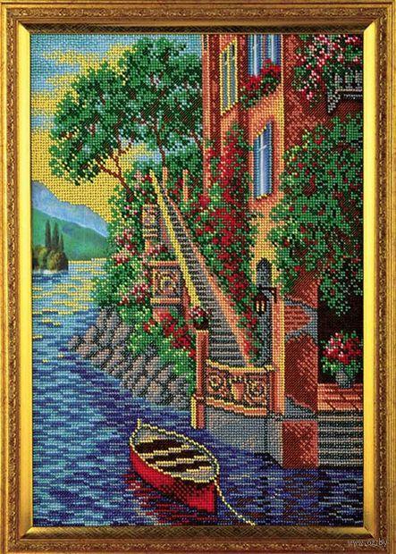"Вышивка бисером ""Остров Капри"" (260х380 мм) — фото, картинка"