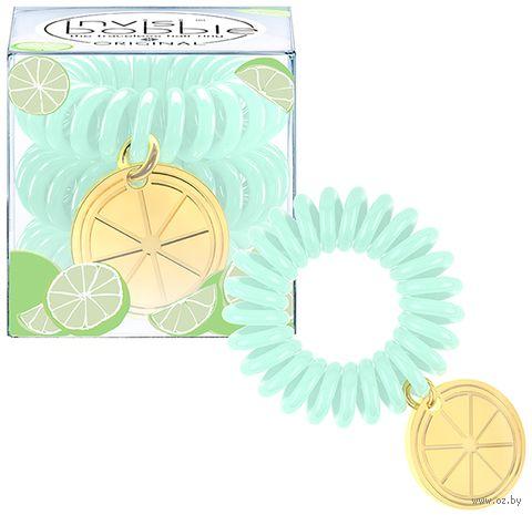"""Набор резинок-браслетов для волос """"Tutti Frutti Lime Time"""" (3 шт.; арт. 3100) — фото, картинка"""
