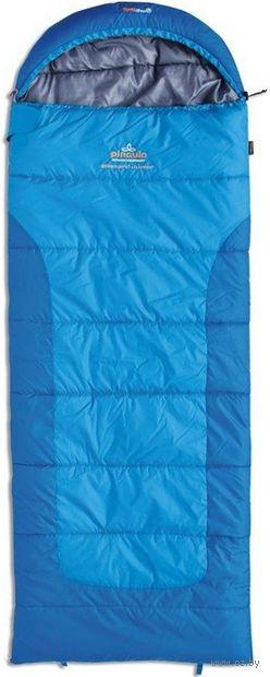 """Спальный мешок """"Blizzard Junior"""" (R; синий) — фото, картинка"""