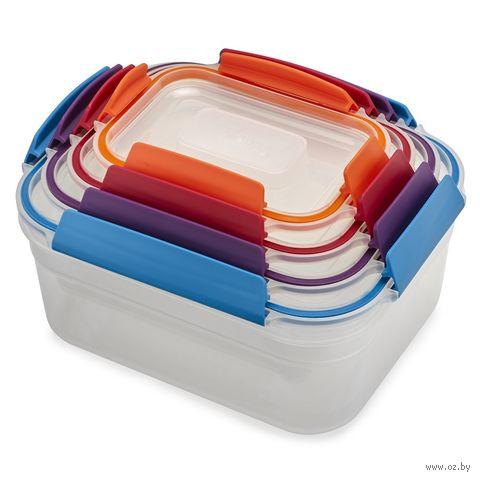 """Набор контейнеров для еды """"Nest Lock"""" (4 шт.) — фото, картинка"""