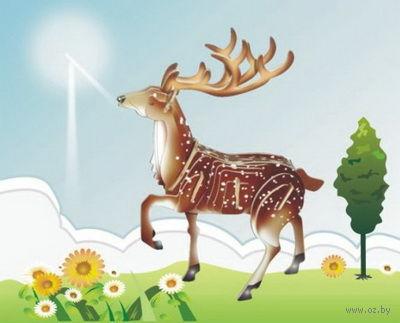 """Сборная деревянная модель """"Благородный олень"""" — фото, картинка"""
