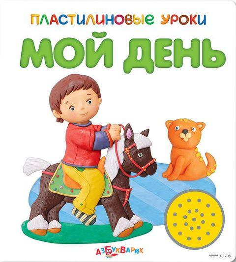 Мой день. Книжка-игрушка. Юлия Юмова, Валерия Зубкова