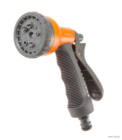 Пистолет-распылитель STARTUL GARDEN 8-позиционный с мягкой ручкой