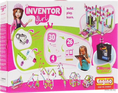 """Конструктор """"Inventor Girl. 30 моделей"""" (166 деталей) — фото, картинка"""