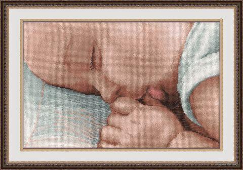 """Вышивка крестом """"Соня"""" (300х200 мм) — фото, картинка"""