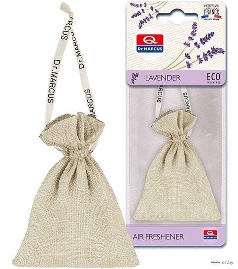 "Ароматизатор подвесной сухой ""Dr.Marcus Eco Fresh Bag"" (Lavender; арт. 24696) — фото, картинка"