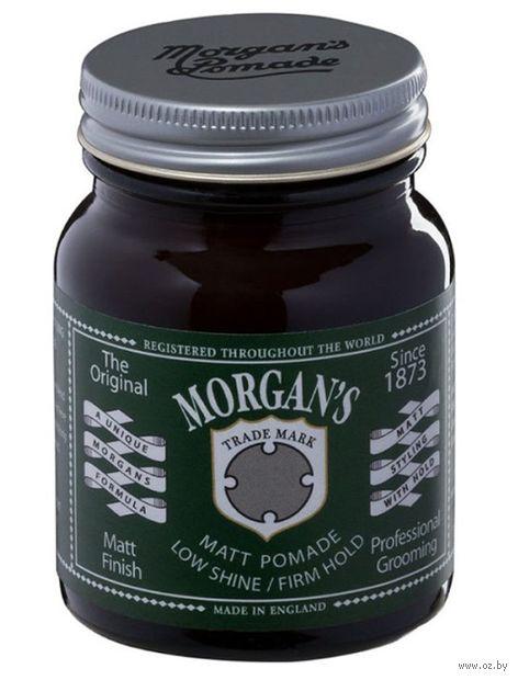 """Помада для укладки волос """"Morgan's Pomade"""" сильной фиксации (100 г) — фото, картинка"""