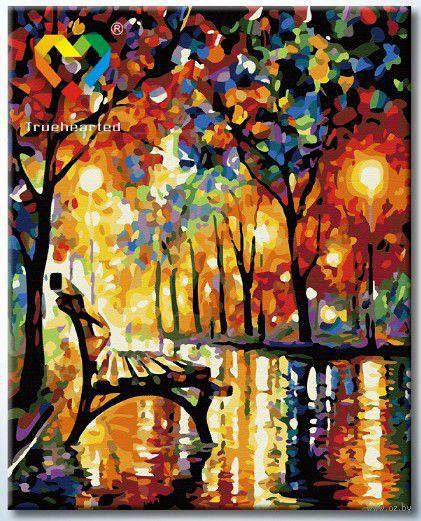 """Картина по номерам """"При свете фонарей"""" (400x500 мм; арт. HB4050120)"""