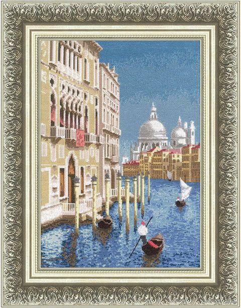 """Вышивка крестом """"Прекрасная Венеция"""" (340х238 мм) — фото, картинка"""