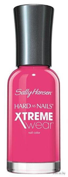 """Лак для ногтей """"Hard as nails xtreme wear"""" (тон: 165, ярко-розовый) — фото, картинка"""