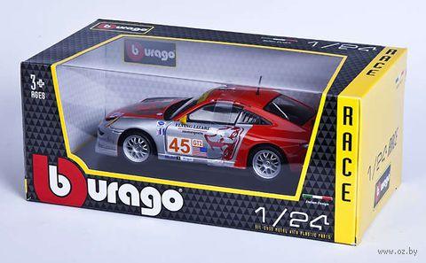 """Модель машины """"Bburago. Porsche 911 GT3 RSR"""" (масштаб: 1/24) — фото, картинка"""