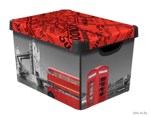 """Коробка для хранения """"London"""" (395х295х250 мм) — фото, картинка"""