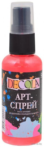 "Краска-спрей ""Decola"" (коралловая; 50 мл) — фото, картинка"