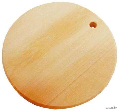 """Заготовка деревянная """"Доска кухонная круглая"""" (150 мм) — фото, картинка"""
