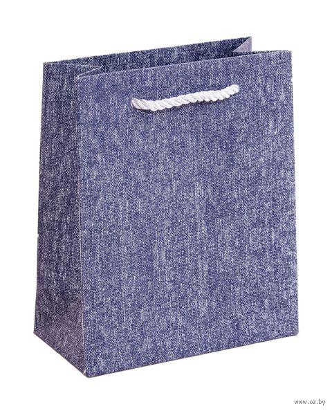 Пакет бумажный подарочный (14х17х7 см) — фото, картинка