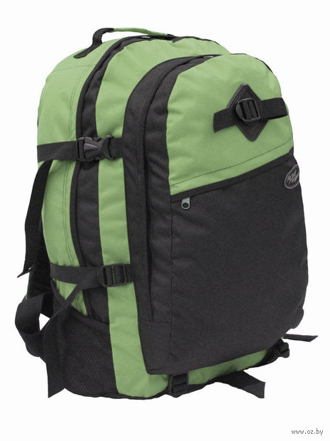 """Рюкзак """"Пик-40"""" (чёрный/тёмно-зелёный)"""