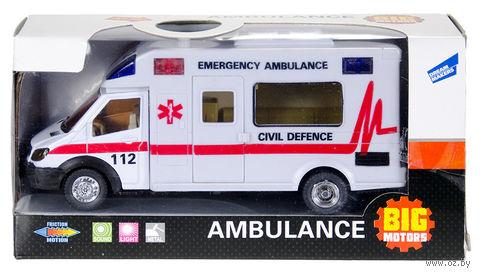 """Машинка инерционная """"Скорая помощь"""" (арт. JL81022) — фото, картинка"""