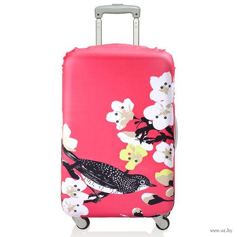 """Чехол для чемодана """"Cherry"""" (средний)"""