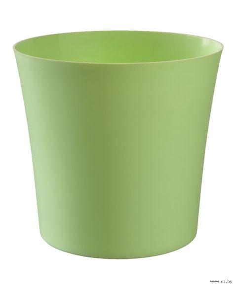 """Цветочный горшок """"Фиолек"""" (16 см; зеленая пастель) — фото, картинка"""