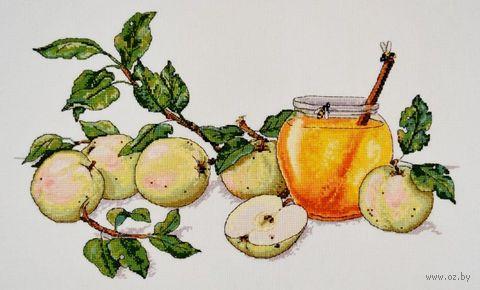 """Вышивка крестом """"Медовые яблоки"""" (420х280 мм) — фото, картинка"""