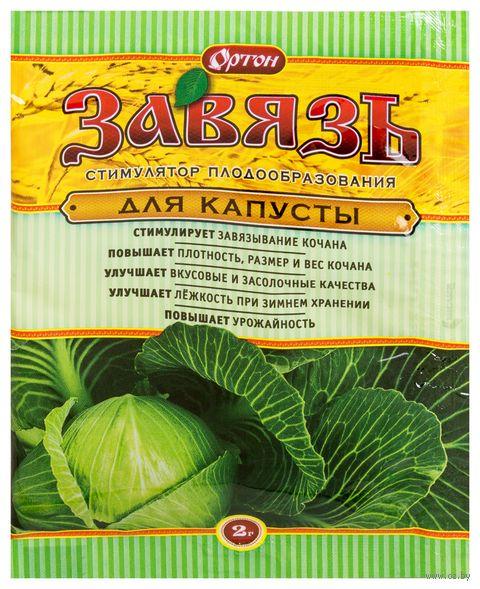 """Стимулятор плодообразования для капусты """"Зaвязь"""" (2 г) — фото, картинка"""