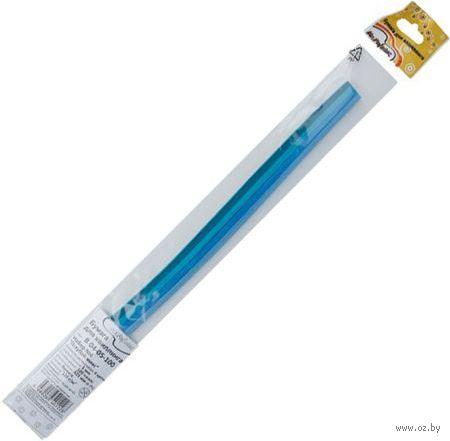 Бумага для квиллинга (325х5 мм; голубой микс; 100 шт.) — фото, картинка