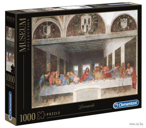 """Пазл """"Леонардо да Винчи. Тайная вечеря"""" (1000 элементов) — фото, картинка"""