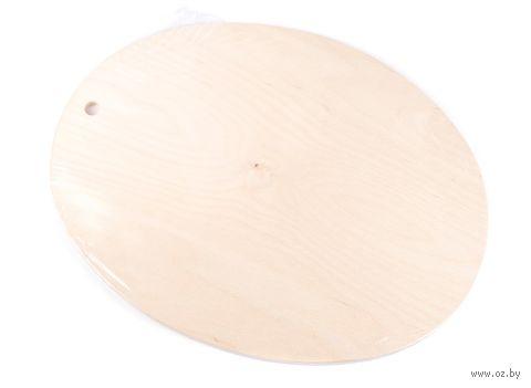 Доска разделочная деревянная (290х365х10 мм)