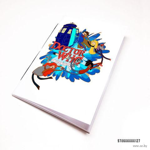 """Блокнот """"Доктор Кто. Время приключений"""" (А7; арт. 127) — фото, картинка"""