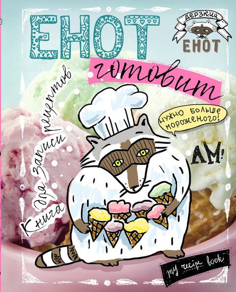Енот готовит. Книга для записи рецептов (больше мороженого!)