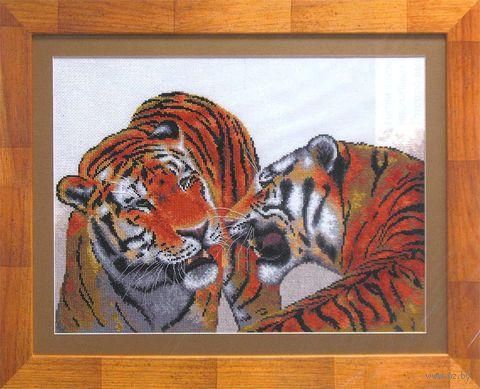 """Вышивка крестом """"Тигры"""""""