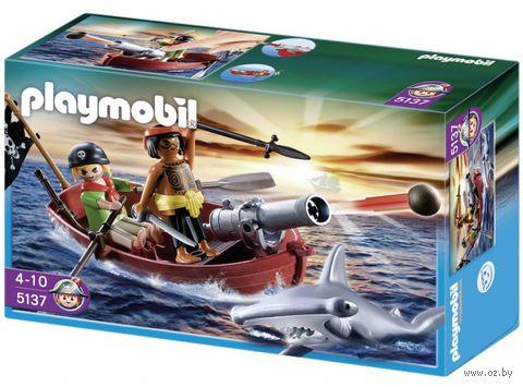 "Игровой набор ""Пиратская лодка и акула"""