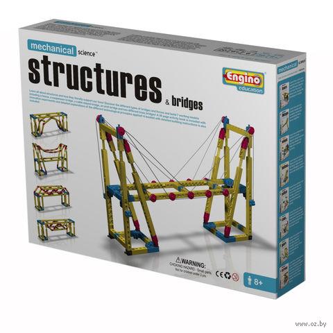 """Конструктор """"Mechanical Science. Мосты и сооружения"""" (365 деталей)"""