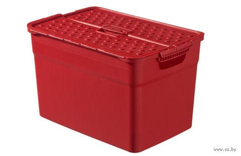 """Ящик для хранения """"Pixxel"""" (12 л; красный)"""