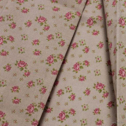 """Ткань """"Розы в стиле шебби шик"""" №7 — фото, картинка"""