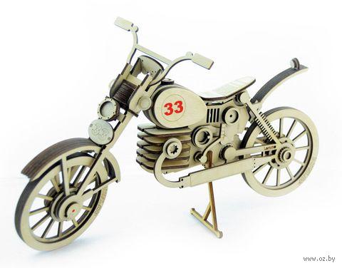 """Сборная деревянная модель """"Мотоцикл 33"""" — фото, картинка"""