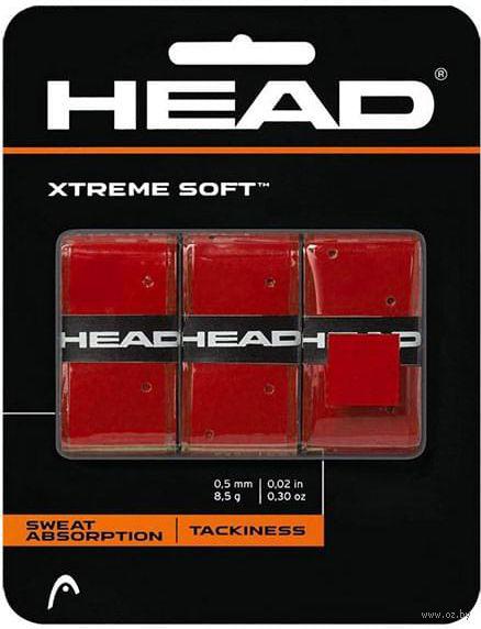 """Овергрипы """"Xtreme Soft"""" (3 шт.; красные) — фото, картинка"""