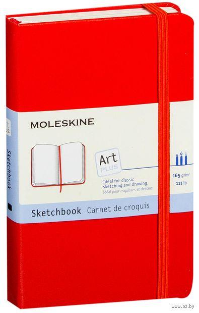 """Скетчбук Молескин """"Classic"""" (карманный; твердая красная обложка)"""