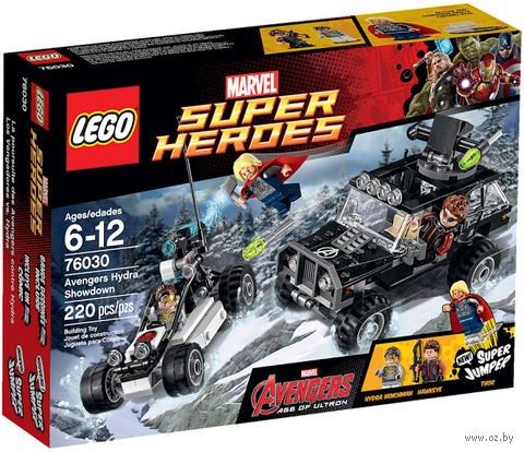 """LEGO Super Heroes """"Гидра против Мстителей"""""""