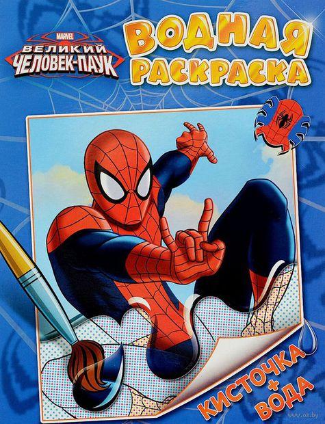 Человек-паук. Водная раскраска