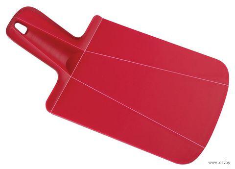 "Доска-трансформер разделочная ""Chop2Pot Mini"" (31,8х17х2 см; красная)"