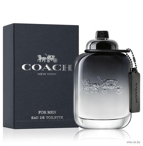 "Туалетная вода для мужчин Coach ""For Men"" (100 мл) — фото, картинка"