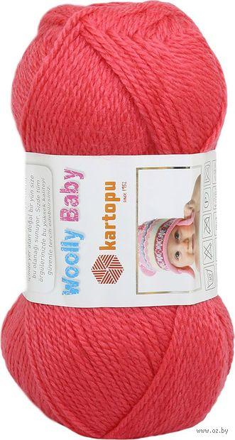 "Пряжа ""KARTOPU. Woolly Baby №K812"" (50 г; 148 м; малиновый) — фото, картинка"