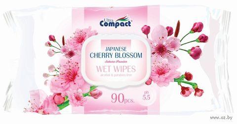 """Влажные салфетки """"Japanese Cherry Blossom"""" (90 шт.) — фото, картинка"""