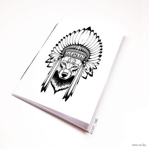 """Блокнот """"Волк"""" (А5; арт. 777) — фото, картинка"""